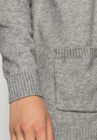 ONLY - ONLLESLY L/S  NOOS - Cardigan - medium grey melange - 4