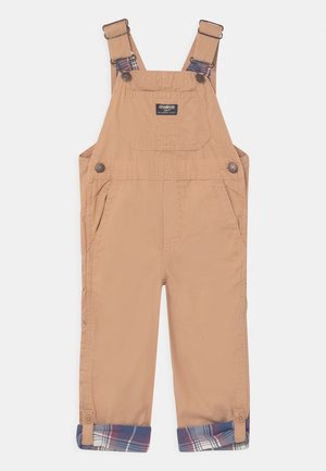 CONVERTIBLE OVERALL - Dungarees - brown