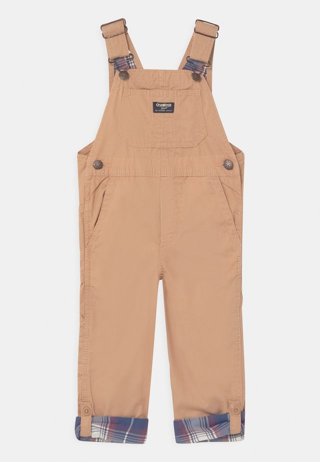 CONVERTIBLE OVERALL - Snekkerbukse - brown