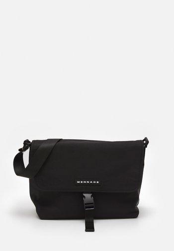 CROSSBODY MESSENGER UNISEX - Across body bag - black