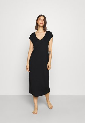 MAXI COLUMN DRESS - Nightie - black
