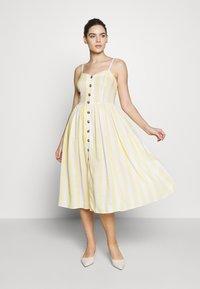 Mavi - BUTTON DRESS - Robe d'été - french vanilia - 1