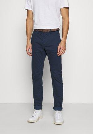 Trousers - navy minimal