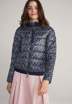 OLEAH - Winter jacket - navy-weiß