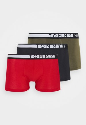 TRUNK  3 PACK - Shorty - green/black/red