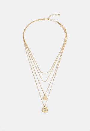 PCHOLLIA COMBI NECKLACE KEY - Smykke - gold-coloured
