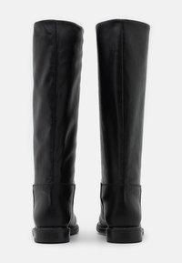 Trussardi - BOOT LISCIO - Vysoká obuv - black - 3