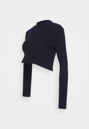 LONG SLEEVE  - Strikkegenser - maritime blue