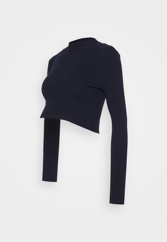 LONG SLEEVE  - Sweter - maritime blue