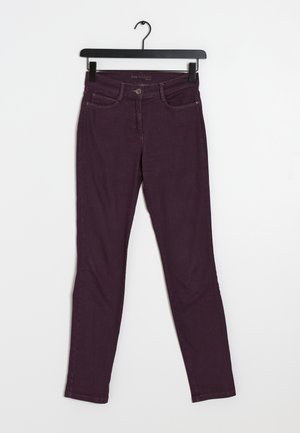 Jeansy Slim Fit - purple