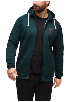 Zip-up hoodie - dark green