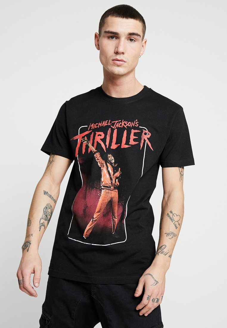 Mister Tee - MICHAEL JACKSON THRILLER VIDEO TEE - Print T-shirt - black