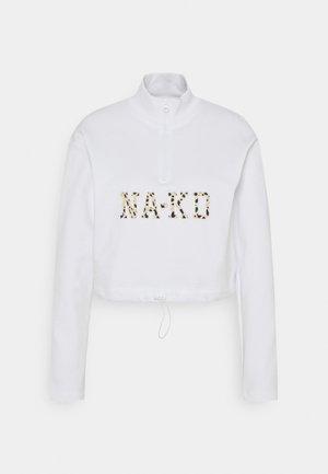 CROPPED - Sweatshirt - white