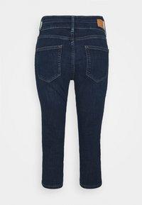 s.Oliver - Denim shorts - dark blue denim - 1