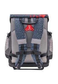 Belmil - SET - School bag - mottled black - 1