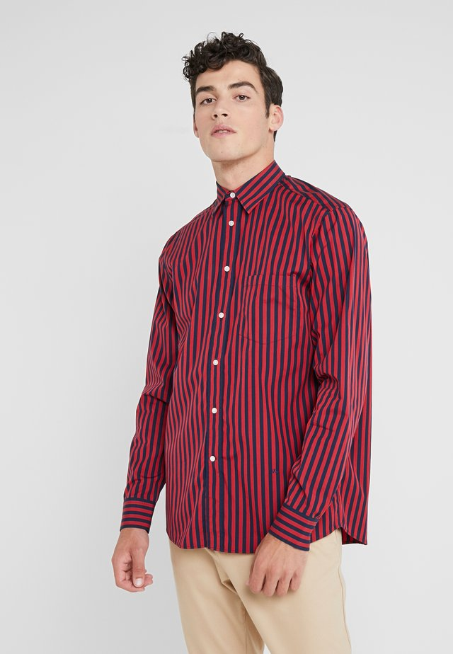 DANIEL POP STRIPE - Camicia - red bell