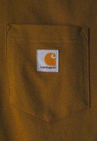 Carhartt WIP - TRIPLE POCKET - Pikkade varrukatega topp - tawny/black/dark iris - 2