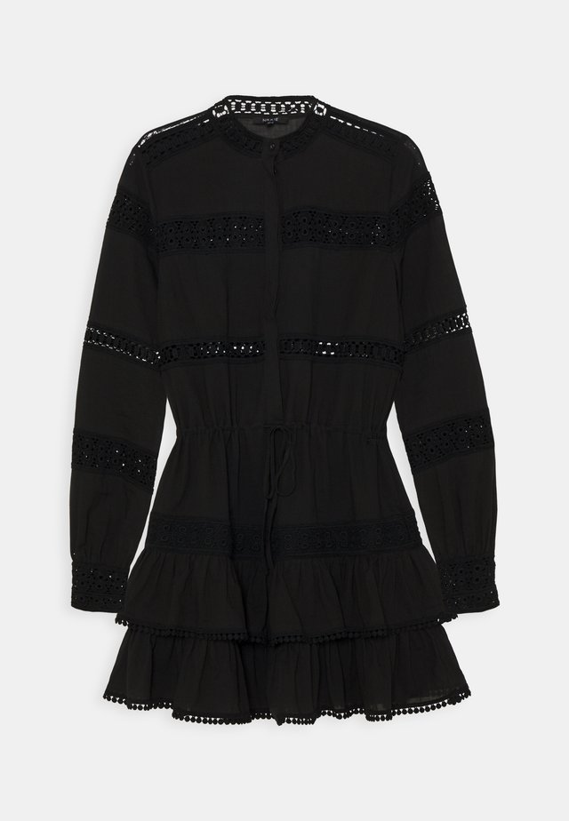 SADIE DRESS - Blousejurk - black