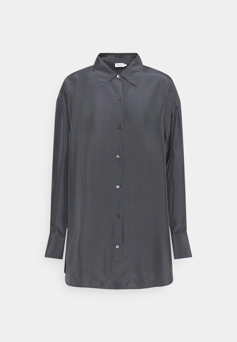 Filippa K - MANDY SHIRT - Košile - grey