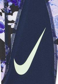 Nike Performance - ONE - Legging - midnight navy/black/barely volt - 3