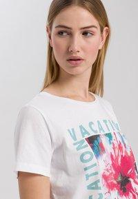 Marc Aurel - Print T-shirt - white varied - 3