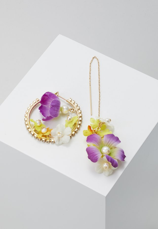 Earrings - lilac