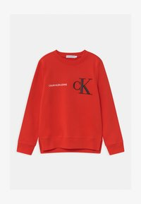 Calvin Klein Jeans - RAISED MONOGRAM - Mikina - red - 0