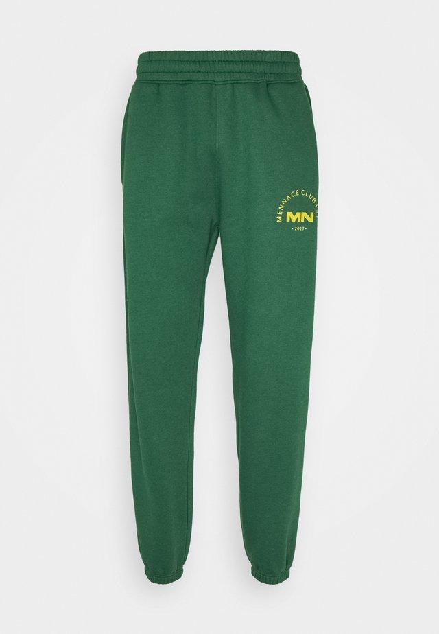 MENNACE CLUB UNISEX - Teplákové kalhoty - green
