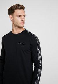 Champion - LONG SLEEVE CREWNECK  - Långärmad tröja - black - 3