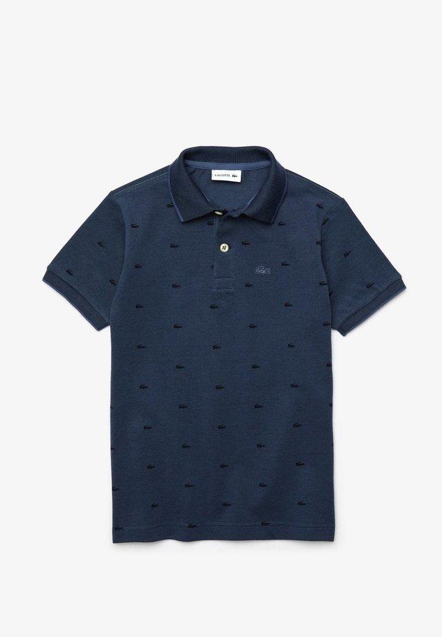 POLO MANCHES COURTES ENFANT-PJ6961 - Polo shirt - bleu / bleu marine