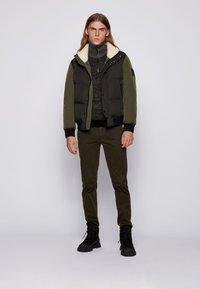 BOSS - OSK - Down jacket - open green - 1