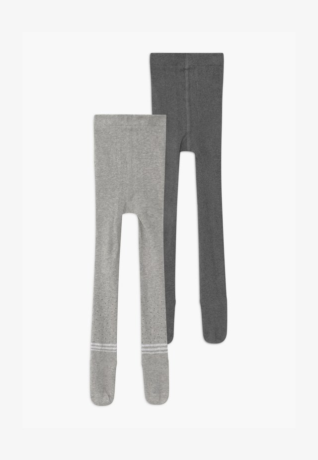 PAIR 2 PACK - Tights - fog