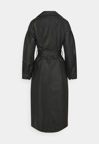 Missguided - BELTED BALLOON SLEEVE - Trenchcoat - black - 1