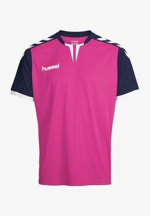 CORE - T-shirt de sport - rose violet/marine pr