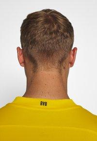 Puma - BVB BORUSSIA DORTMUND HOME REPLICA - Club wear - cyber yellow/black - 4