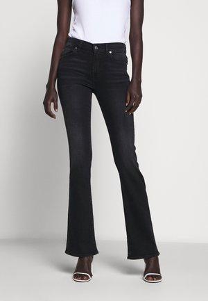 Bootcut jeans - soho black