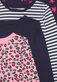 Friboo - 4 PACK - T-shirt à manches longues - pink/dark blue - 3