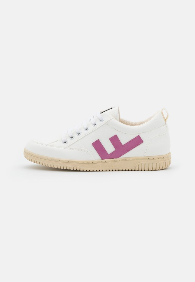 VEGAN ROLAND  - Sneakersy niskie - white/rose/ivory