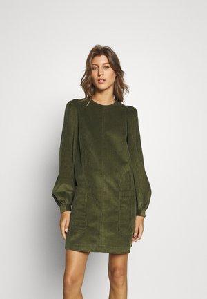 XAVIA LINE MINI DRESS - Day dress - khaki