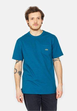 Print T-shirt - moroccan blue