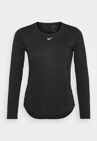 Nike Performance - ONE - Maglietta a manica lunga - black/white - 4
