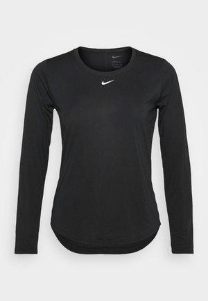 ONE - Maglietta a manica lunga - black/white
