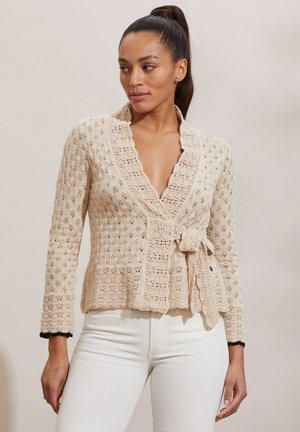MERYL - Cardigan - light porcelain