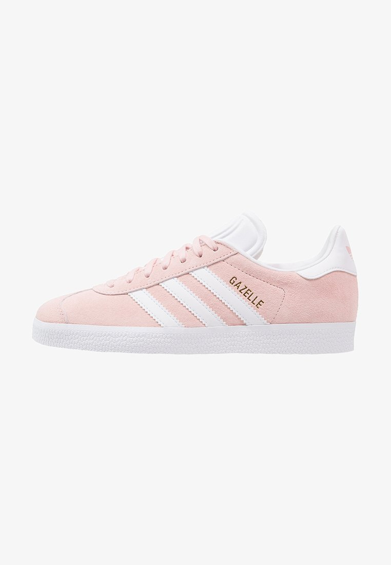 adidas Originals - GAZELLE - Sneaker low - vapour pink/white/gold metallic