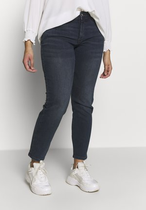 BASIC LEG - Jeansy Slim Fit - used dark stone
