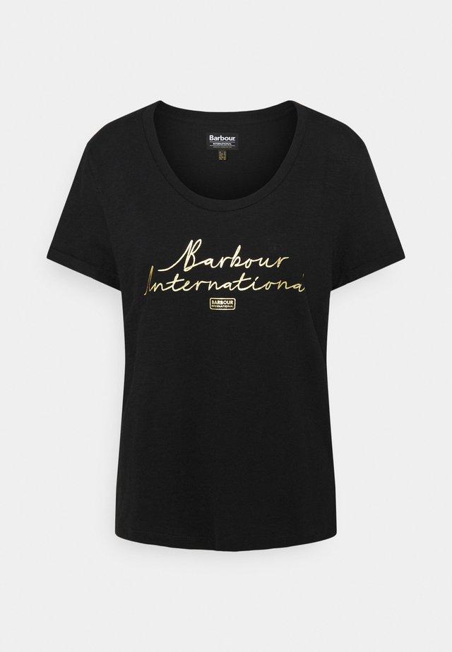 HALLSTATT TEE - T-shirt print - black