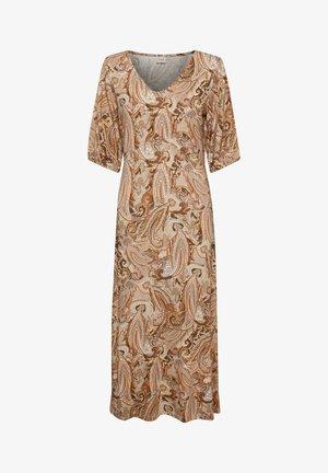 CRLULLA  - Maxi dress - rose brown paisley
