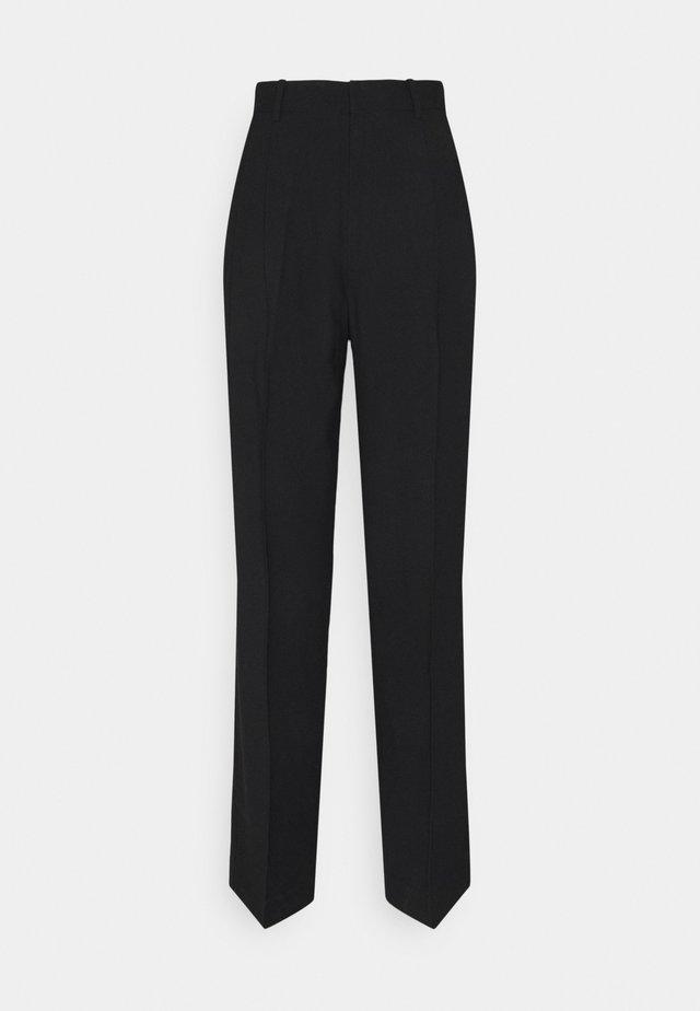 SANDRA STRAIGHt ELONGATED - Pantalon classique - black