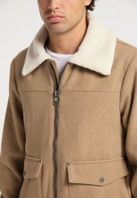 DreiMaster - Light jacket - beige melange - 3