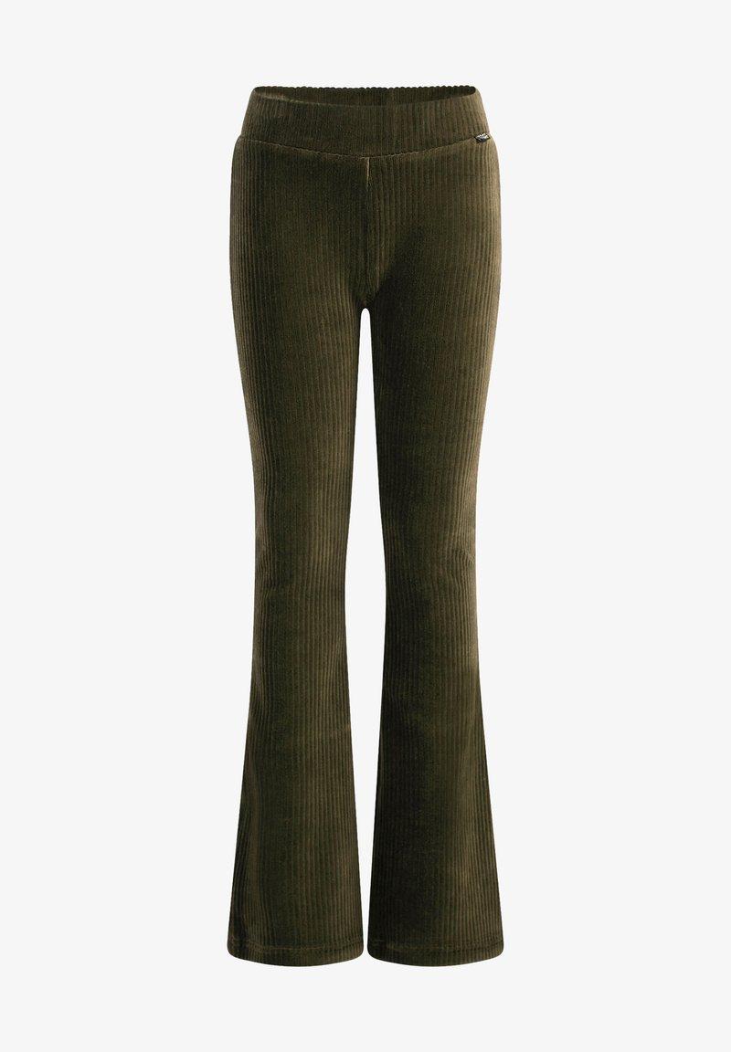 WE Fashion - Broek - dark green
